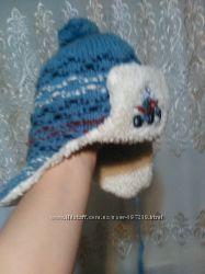 Зимняя шапочка на мальчика