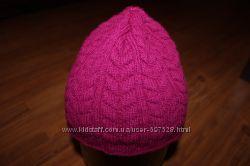 Женские шапки, на ОГ 54-56 см