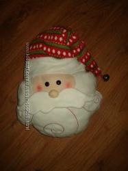 Подушка декоративная Дед Мороз