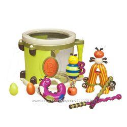 Музыкальная игрушка Парам-пам-пам 8 инструментов, в барабане Battat BX1007Z