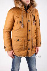 Стильная мужская куртка - парка.