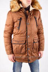 Зимняя мужская куртка - парка.