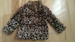 Леопардова шубка для модниці