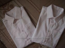 Разные новые школьные рубашки фирмы F&F11-12 лет рост 152-176