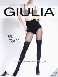 Модные колготки Giulia имитация чулков по супер-цене