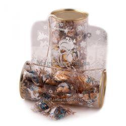 Набор печенье с предсказаниями Дед Мороз в шоколаде