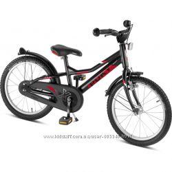 Двухколесный велосипед Puky ZLX 18 Alu 4370 black чёрный