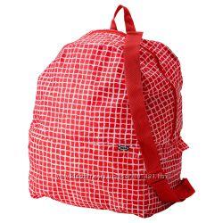 Рюкзак-трансформер КНЭЛЛА Ikea красный-белый. Наличие Луганск