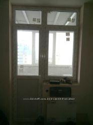 Стеклопакет балконный , двери и окно с новостроя.