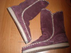 замшевые  сапожки ф.  Zalando Shoes большого размера  42 - 27 см