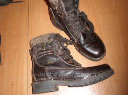 кожаные  ботинки  размер 37 система  ultratex   длина  стельки   24. 5  см