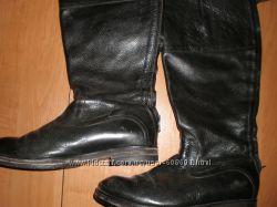 очень  качественные кожаные   сапоги  ф. Sapato  размер  39  -    26  см