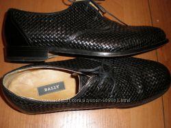 45 12  -  30  см   кожаные  туфли  ф.  Bally  -оригинал