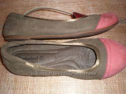 40 р- кожаные  балетки ф.  Timberland