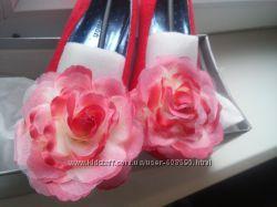 Туфли красные 37 р.