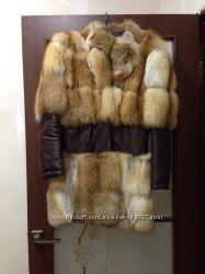 Продам шубку из лисы