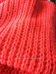 Тёплый объемный шарф Bershka