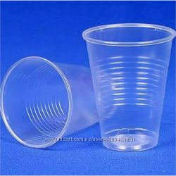 Стакан одноразовый пластиковый 100 мл.