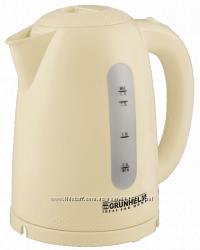 Электрочайник  Grunhelm EKP-2217C бежевый и белый