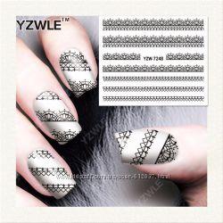 Красивые наклейки на ногти