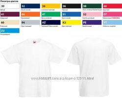 футболки детские хлопок VALUEWEIGHT T, разные цвета