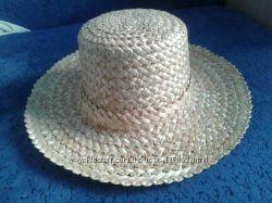 брыль, шляпа соломенная,