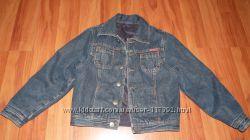 Двусторонний утепленный пиджак куртка