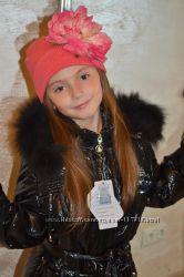Новые зимние пуховые пальто 130 140 150