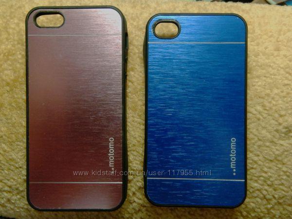 Чехол - накладка Motomo INO METAL, на IPhone, samsung Galaxy