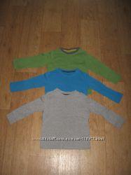 Регланы и футболки фирменные на мальчика 3-4года.