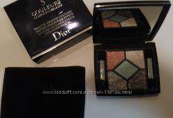 Пятерка теней Dior Glowing Gardens лимитка весны 2016 Blue Garden 031