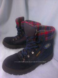 Зимние ботинки 40, 26 см, замш, тимберленды Olang, Италия. Новые. Суперные