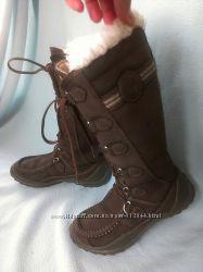 Сапоги зимние 36-37, 23. 5 см Cat нубук мех, США, Оригинал