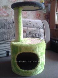 Домик - когтеточка для котов и кошек