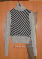 Модный красивый свитер гольф H&M женский шерть  ангора 36 размер S