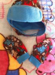 Очень удобная шапочка Columbia с варежками размер S