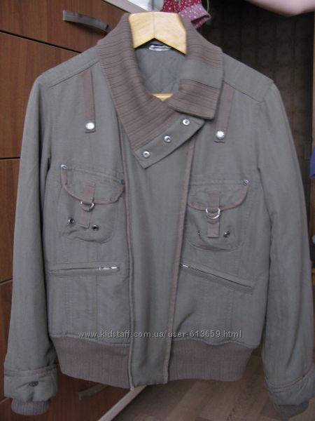 Куртка женская демисезонная  MOTO р. 12. 44-46. Бу в отличном состоянии
