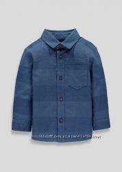 Стильная рубашка Matalan Англия , 12-18, 18-24 месяца.