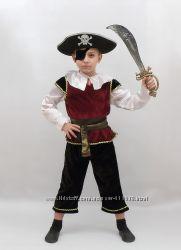 Костюм пирата  рост 128 см. прокат
