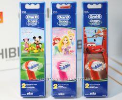 Насадки для детских электрических зубных щеток Oral-b Оригинал Киев