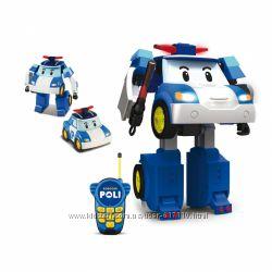 83185 Робот-трансормер Поли на радиоуправлении 23 см Silverlit