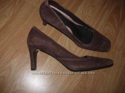 Туфли замшевые 42 разм, 28см