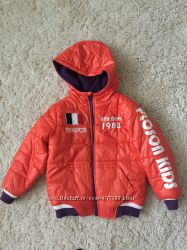 Курточки на мальчика 6-7лет