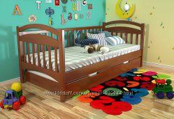 Деревянная кровать АЛИСА от ТМ АРБОР Древ. Доставка бесплатно
