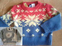 Пуловеры GAP  на 3- 7лет новые