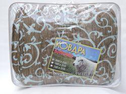 Теплое одеяло на овчинке  , Евро размер , есть и другие размеры