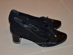 Туфли замшевые р 38