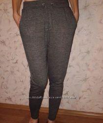 Трикотажные штаны с низкой мотней, размер ХC, наш 40-42