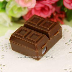 Оригинальная точилка с ластиком Шоколад