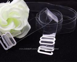 Прозрачные силиконовые бретельки для бюстгальтера